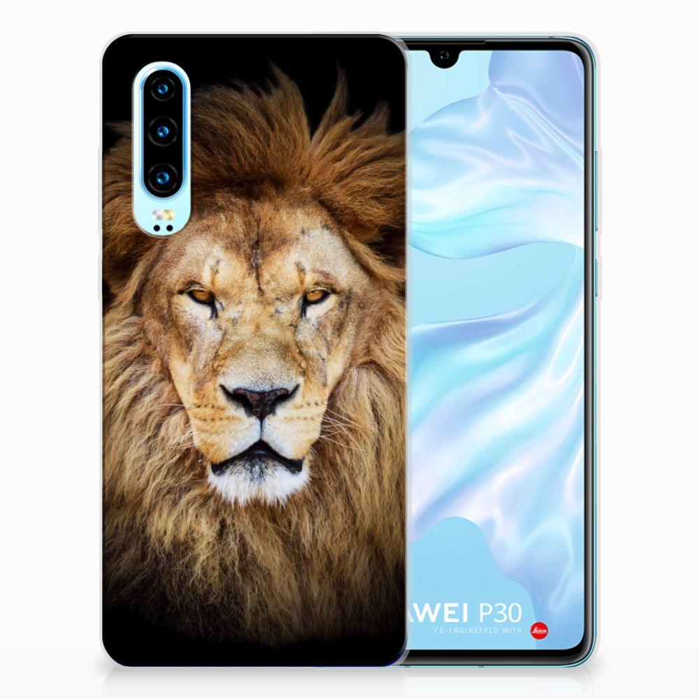 Huawei P30 TPU Hoesje Leeuw