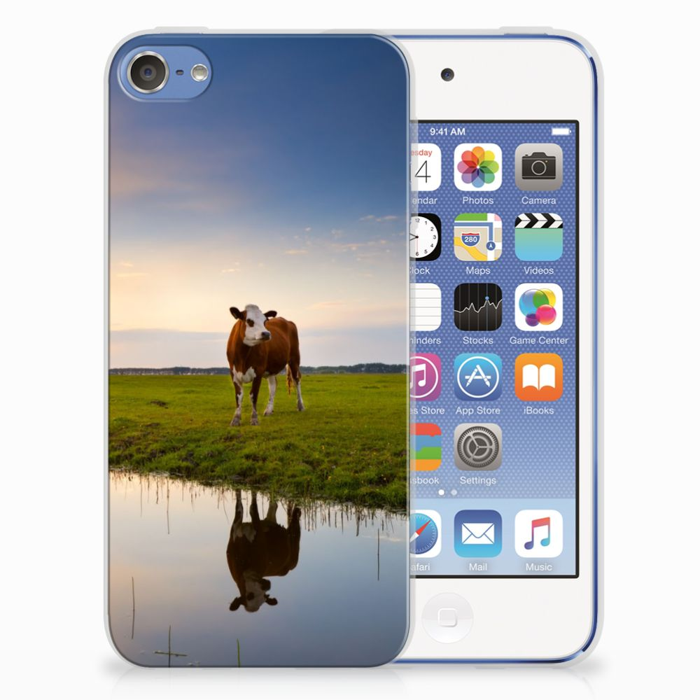 Apple iPod Touch 5 | 6 TPU Hoesje Design Koe