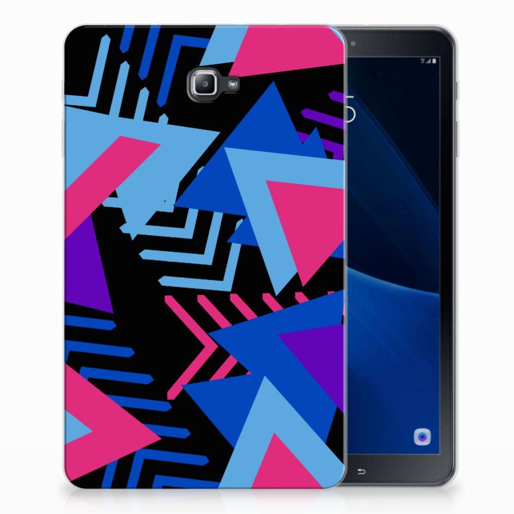 Samsung Galaxy Tab A 10.1 Back Cover Funky Triangle