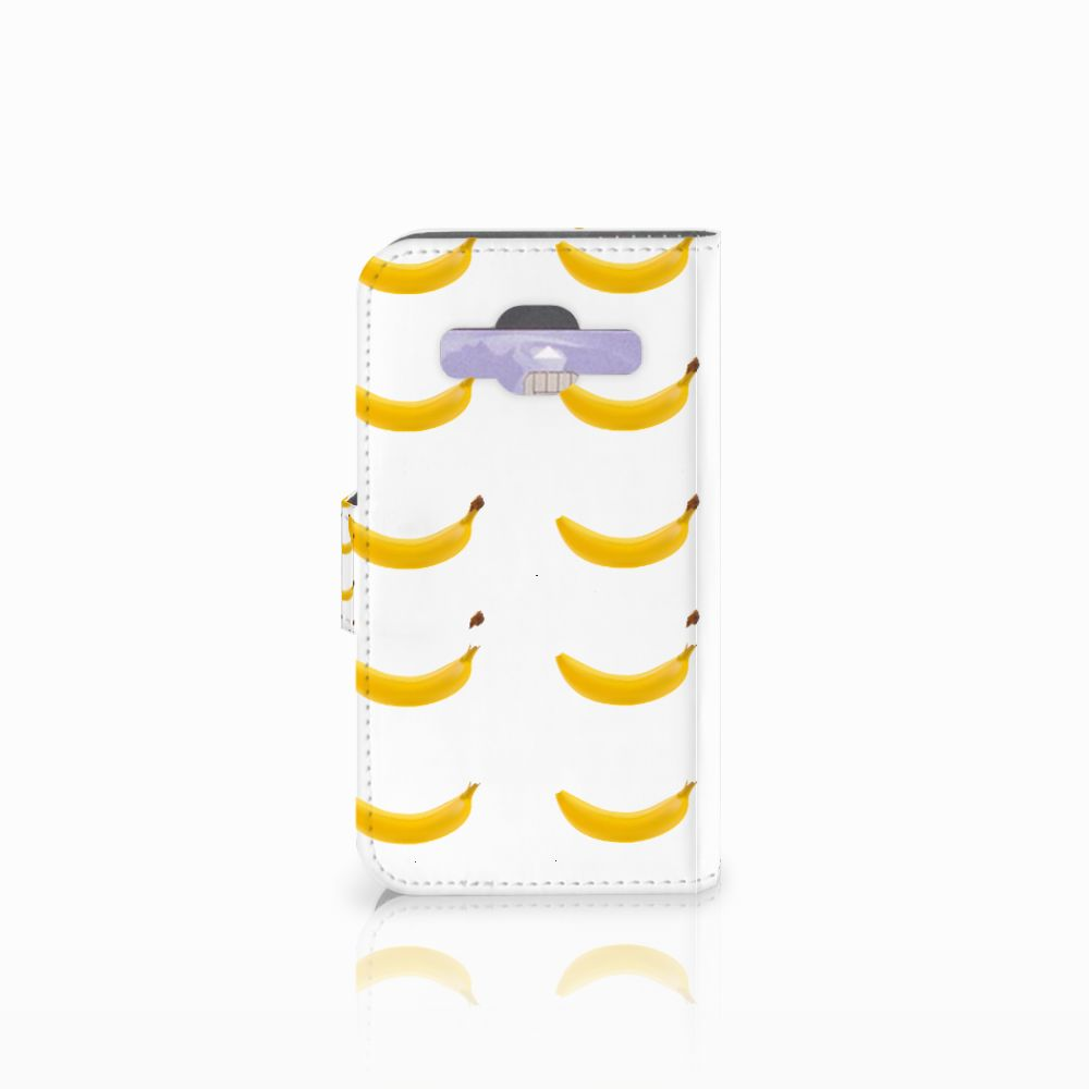 Samsung Galaxy Core Prime Book Cover Banana