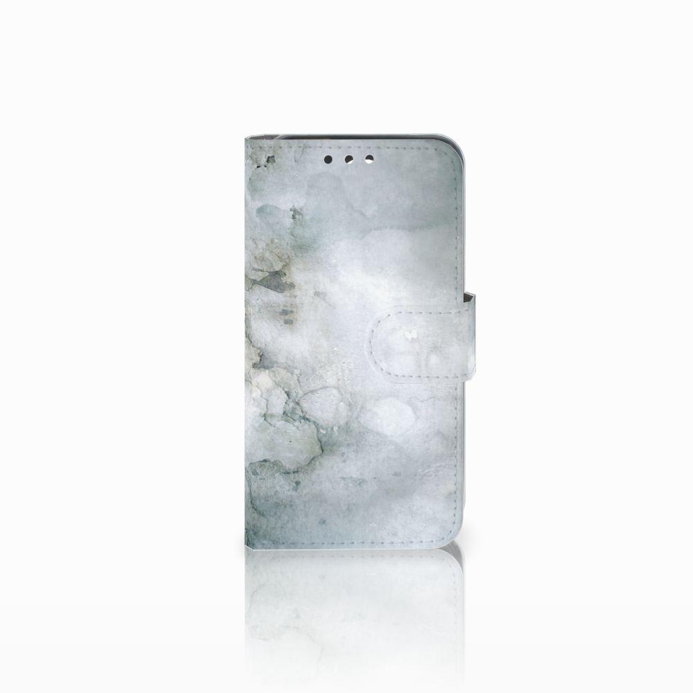 Huawei Y5 Y560 Uniek Boekhoesje Painting Grey