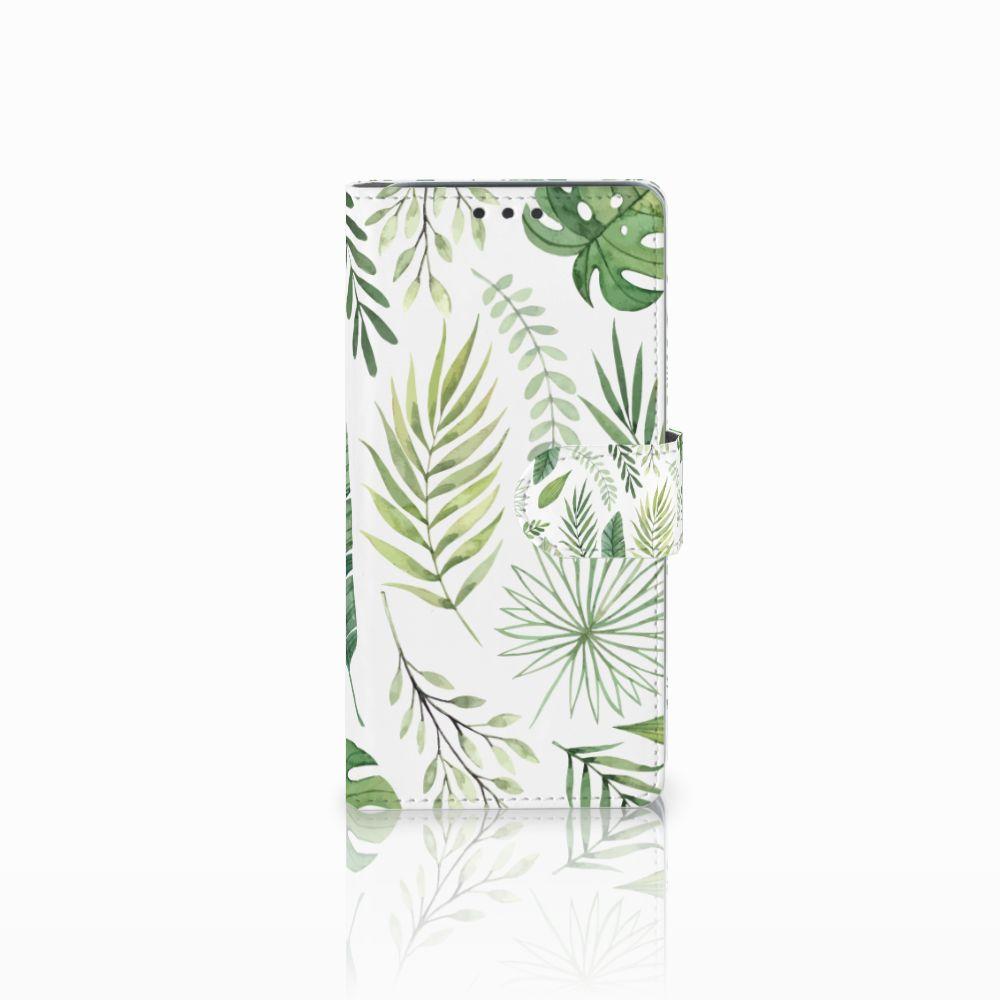 HTC Desire 626 | Desire 626s Uniek Boekhoesje Leaves