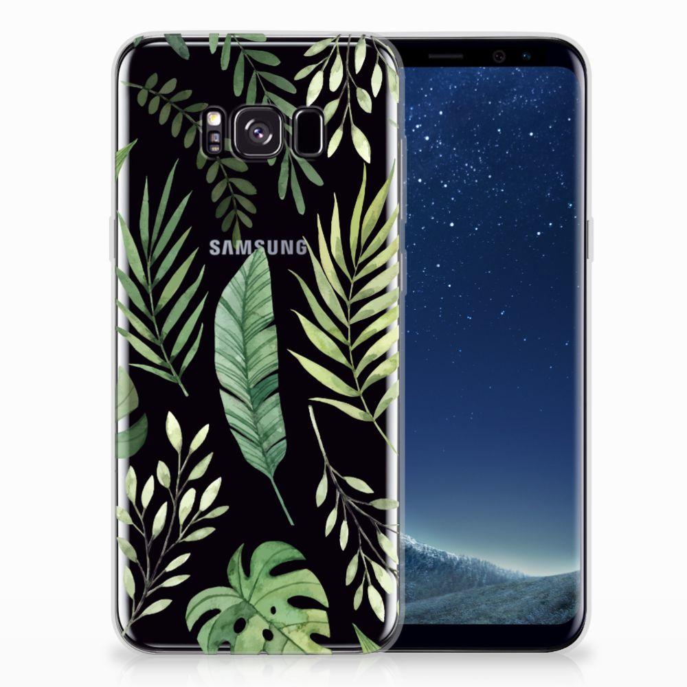 Samsung Galaxy S8 Plus TPU Case Leaves
