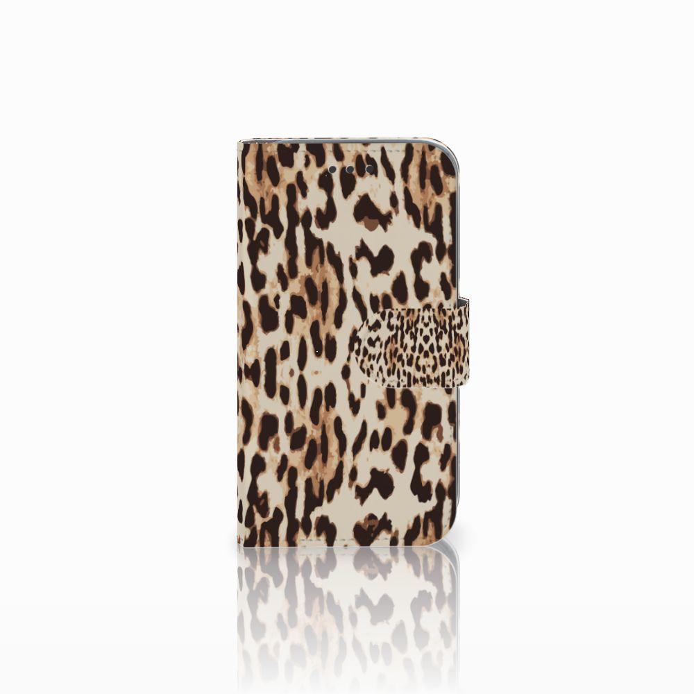 Samsung Galaxy Core Prime Uniek Boekhoesje Leopard