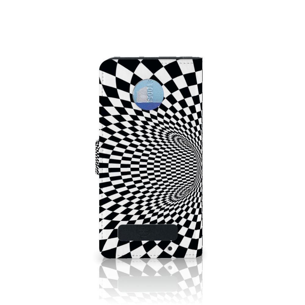 Motorola Moto Z Play Bookcase Illusie