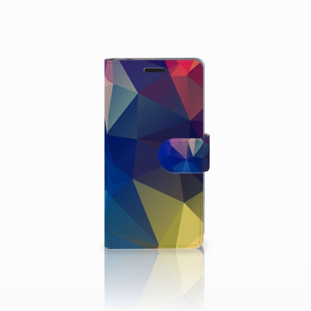 Sony Xperia E3 Bookcase Polygon Dark