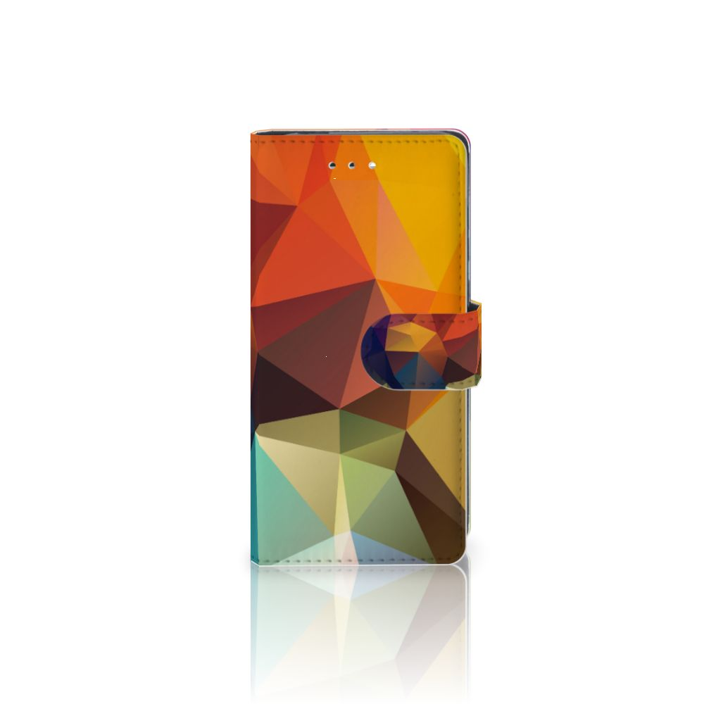 Huawei P9 Boekhoesje Design Polygon Color