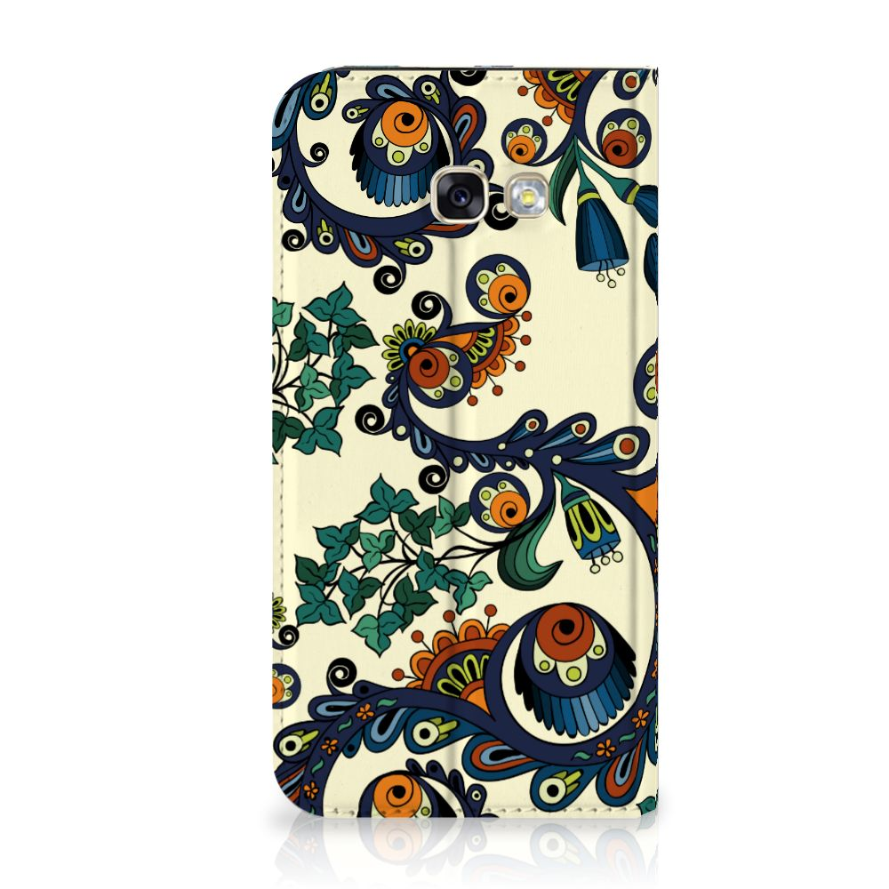 Samsung Galaxy A5 2017 Standcase Hoesje Design Barok Flower