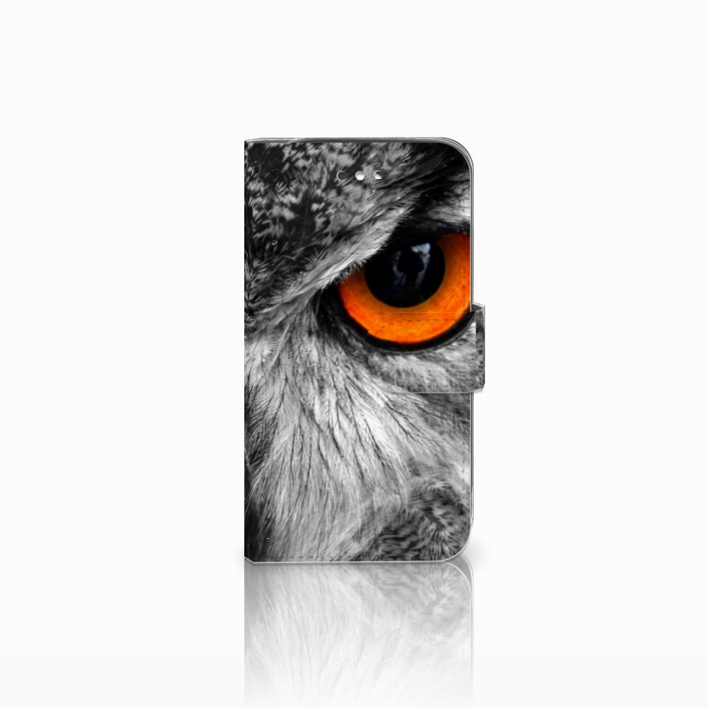 Samsung Galaxy S4 Telefoonhoesje met Pasjes Uil