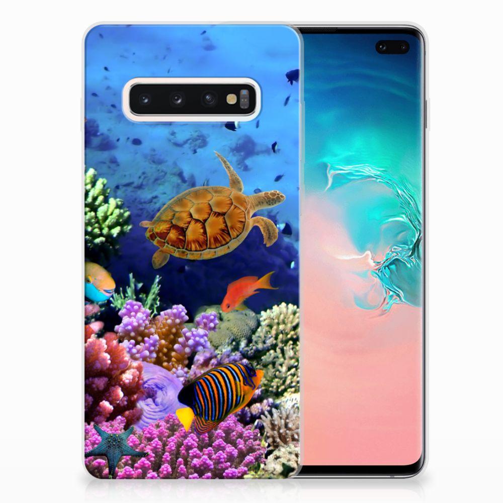 Samsung Galaxy S10 Plus TPU Hoesje Vissen