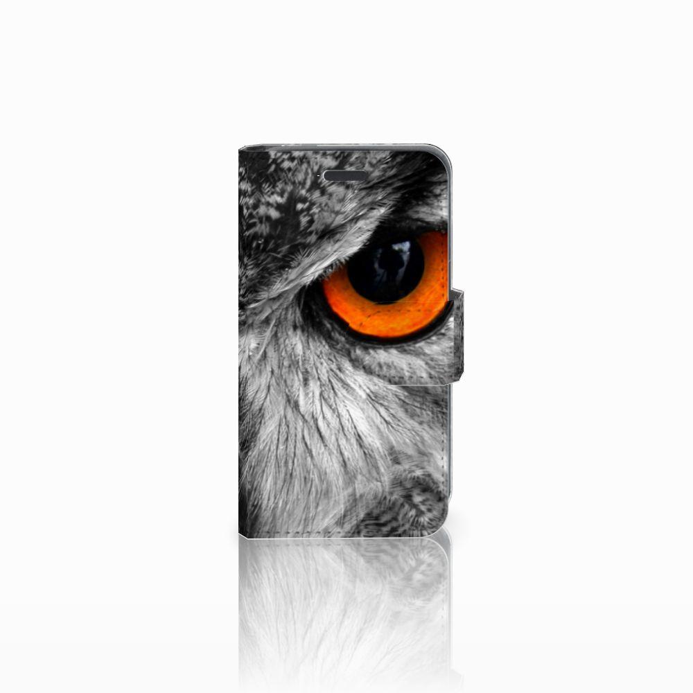Nokia Lumia 520 Boekhoesje Design Uil