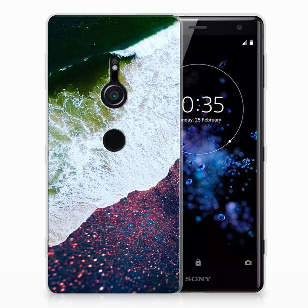 Sony Xperia XZ2 TPU Hoesje Sea in Space