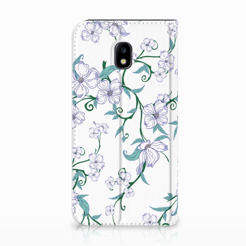 Samsung Galaxy J3 2017 Uniek Standcase Hoesje Blossom White