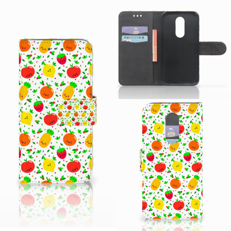 Wiko Wim Lite Book Cover Fruits