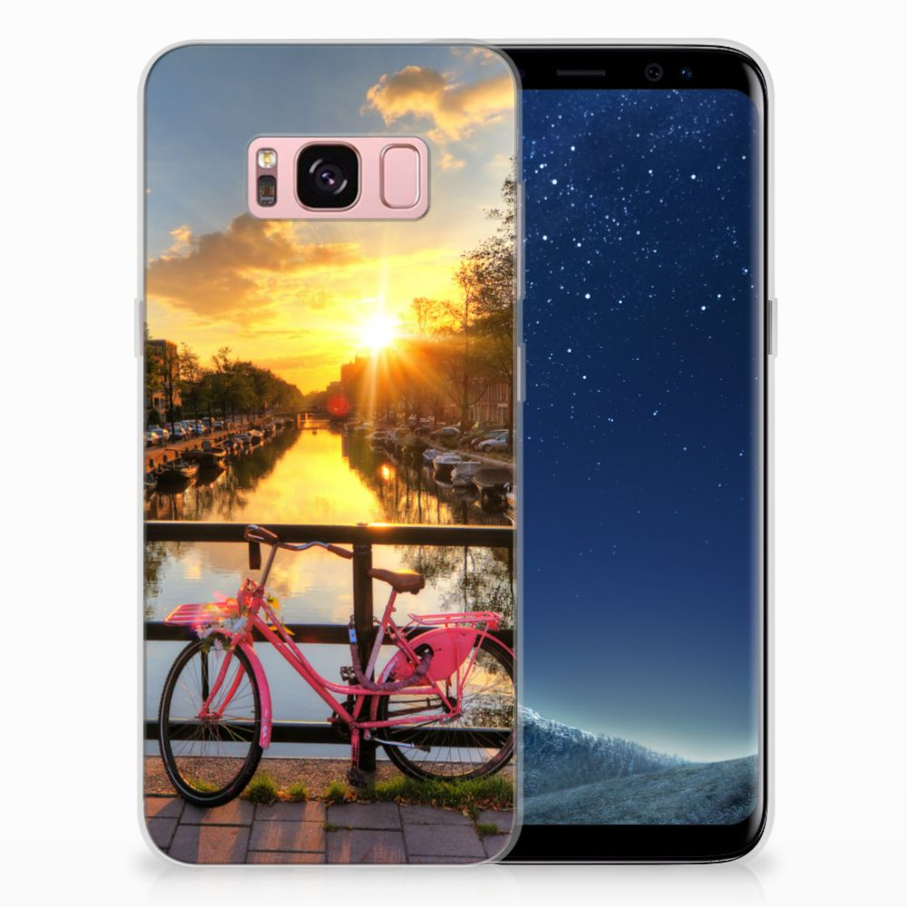 Samsung Galaxy S8 Uniek TPU Hoesje Amsterdamse Grachten