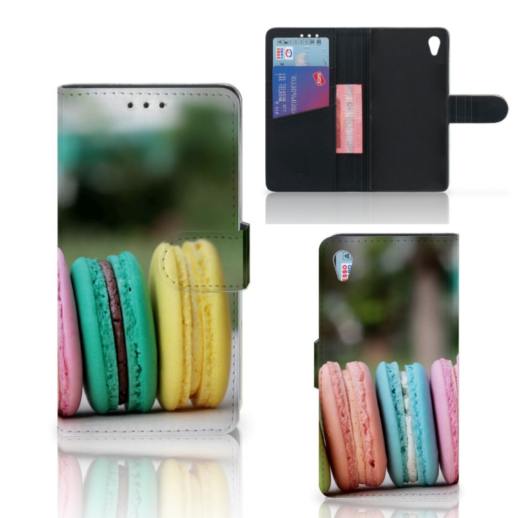 Sony Xperia Z3 Book Cover Macarons