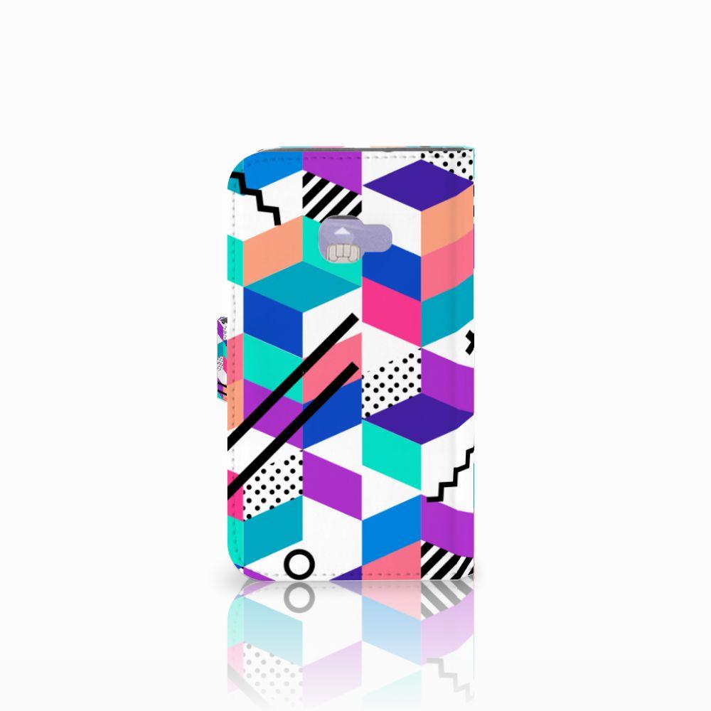 Samsung Galaxy Xcover 4   Xcover 4s Bookcase Blokken Kleurrijk
