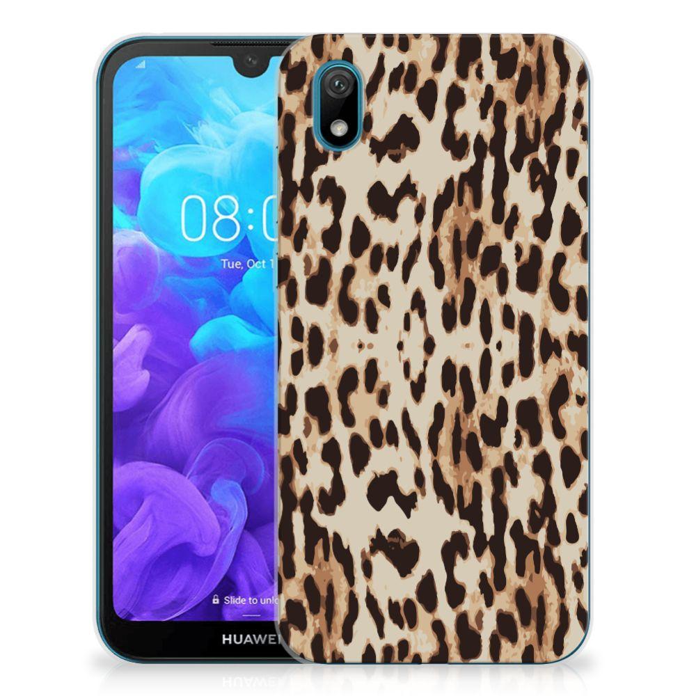 Huawei Y5 (2019) TPU Hoesje Leopard