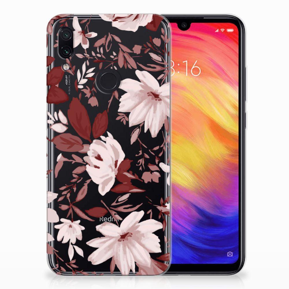Hoesje maken Xiaomi Redmi Note 7 Watercolor Flowers