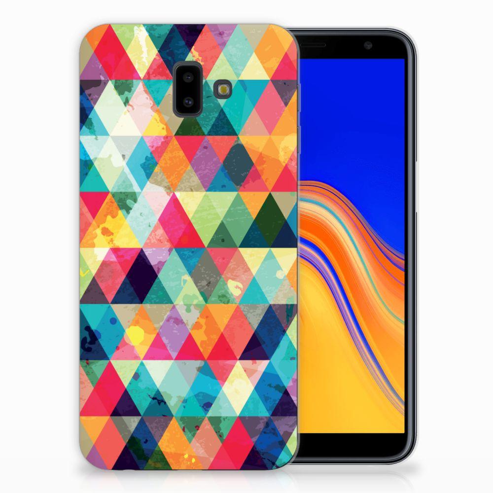 Samsung Galaxy J6 Plus (2018) TPU bumper Geruit