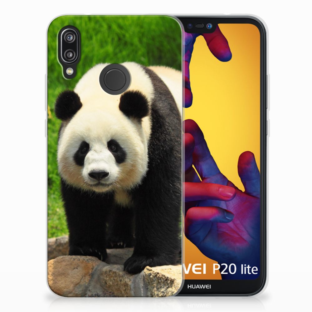 Huawei P20 Lite TPU Hoesje Panda