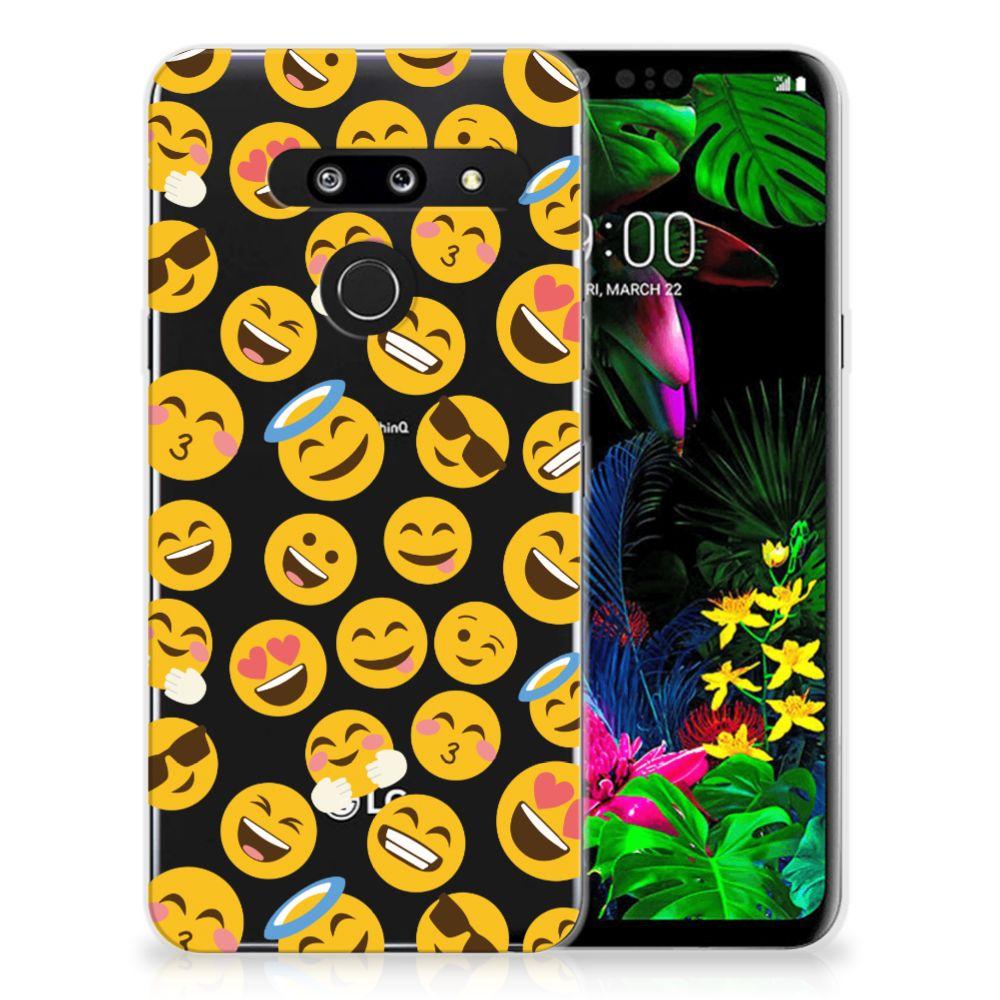 LG G8 Thinq TPU bumper Emoji