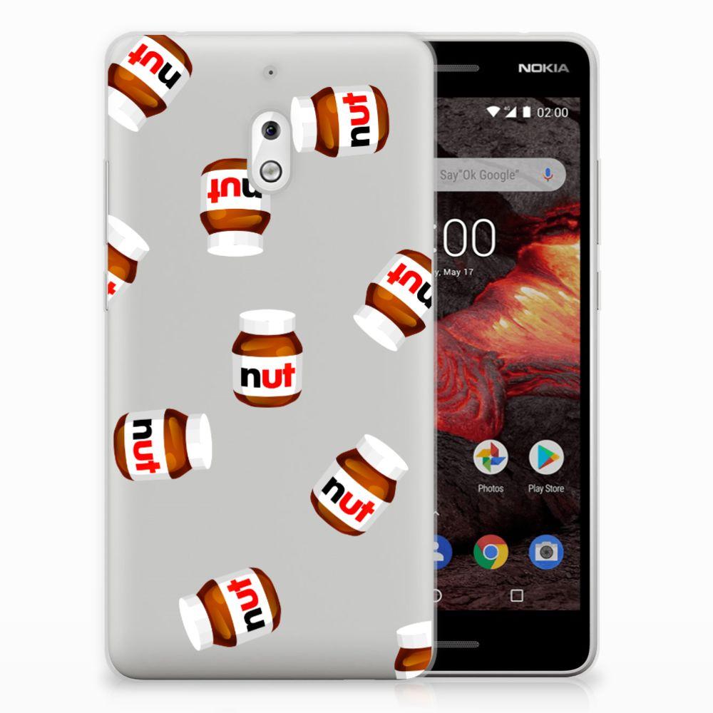 Nokia 2.1 (2018) Siliconen Case Nut Jar