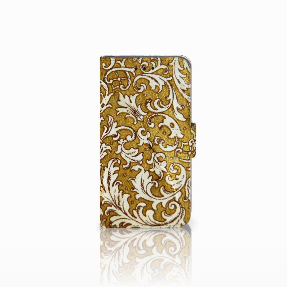 Microsoft Lumia 550 Boekhoesje Design Barok Goud