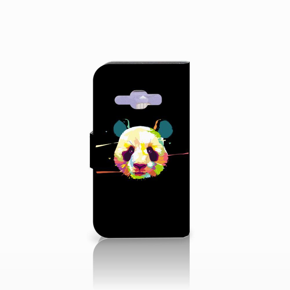 Samsung Galaxy J1 2016 Leuk Hoesje Panda Color