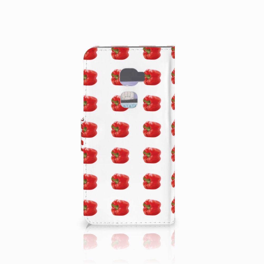 Huawei Mate S Book Cover Paprika Red