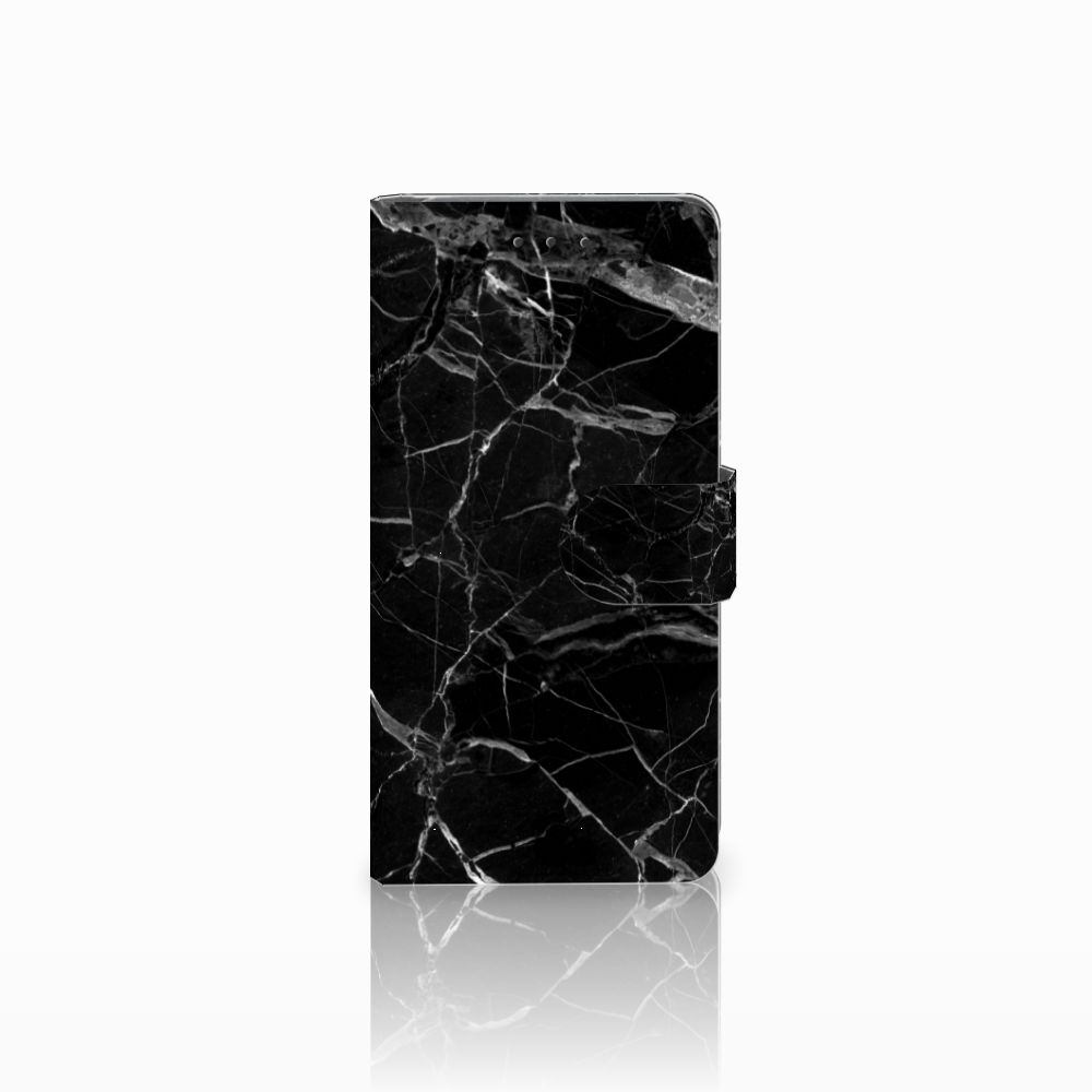 Samsung Galaxy Grand Prime | Grand Prime VE G531F Uniek Boekhoesje Marmer Zwart