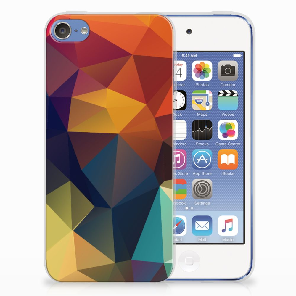 Apple iPod Touch 5 | 6 TPU Hoesje Polygon Color