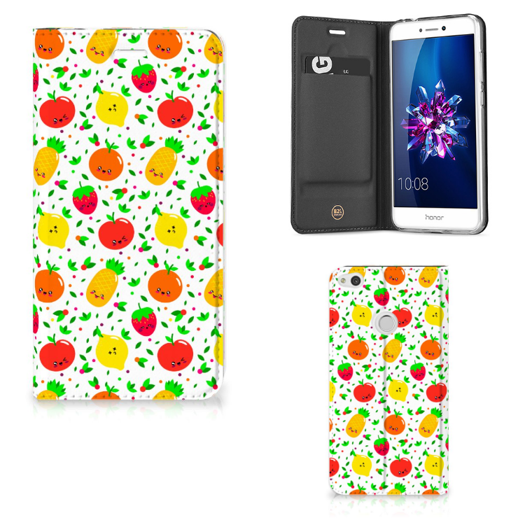 Huawei P8 Lite 2017 Flip Style Cover Fruits