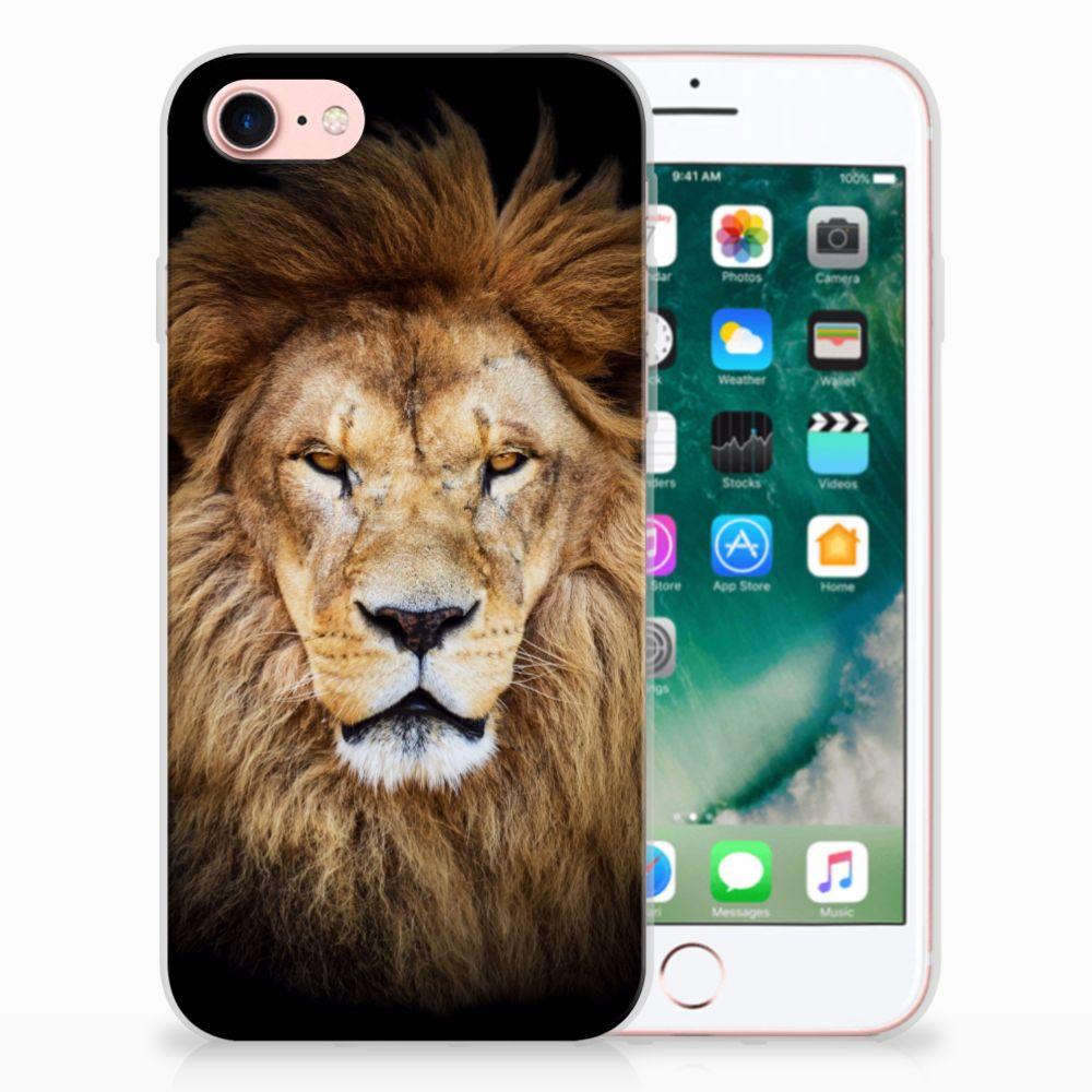 Apple iPhone 7 | 8 TPU Hoesje Design Leeuw