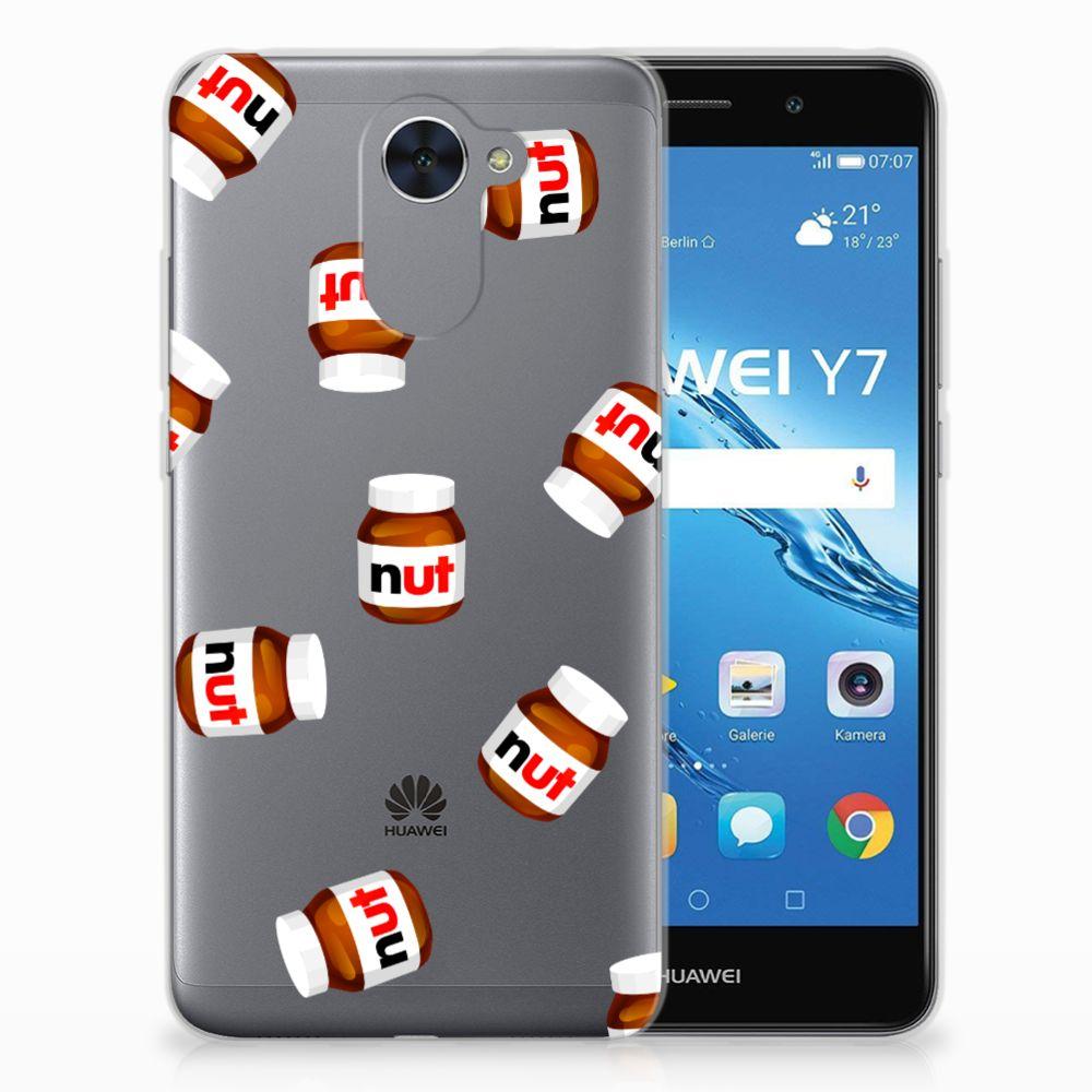 Huawei Y7 (2017) | Y7 Prime (2017) Siliconen Case Nut Jar