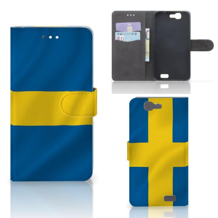 Huawei Ascend G7 Bookstyle Case Zweden
