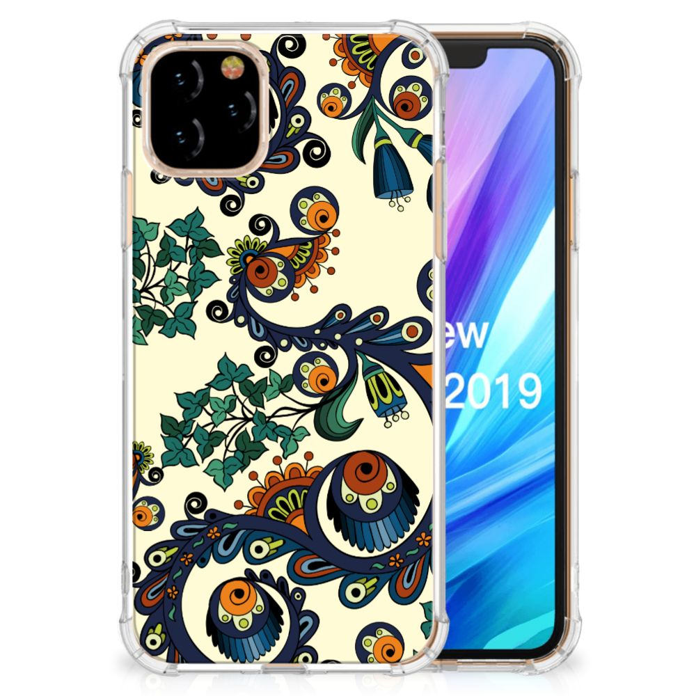 Anti Shock Case Apple iPhone 11 Pro Barok Flower