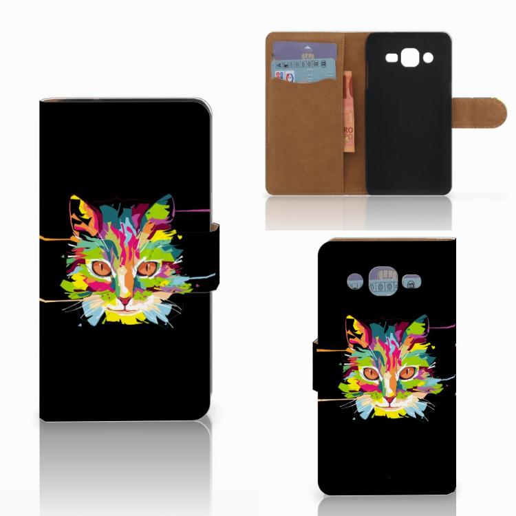 Samsung Galaxy J2 (2015) Leuk Hoesje Cat Color