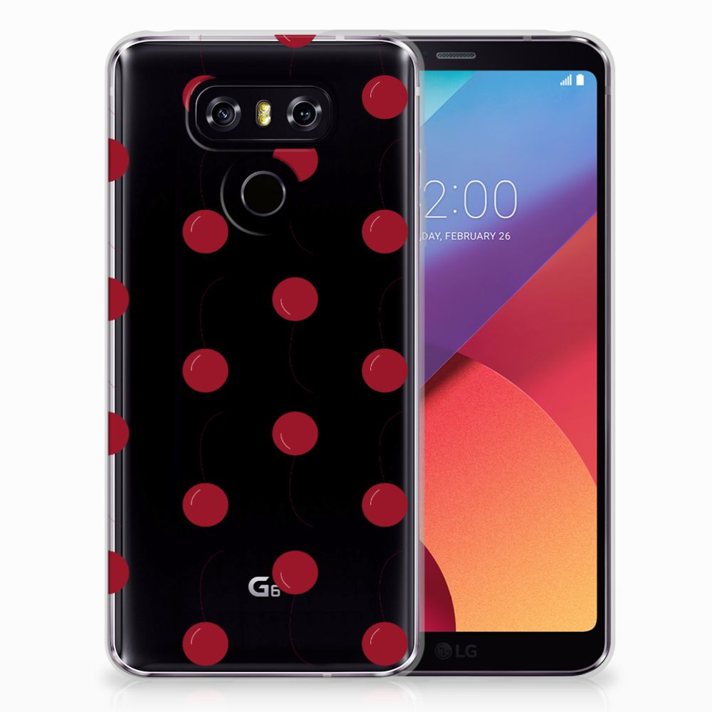 LG G6 Siliconen Case Cherries