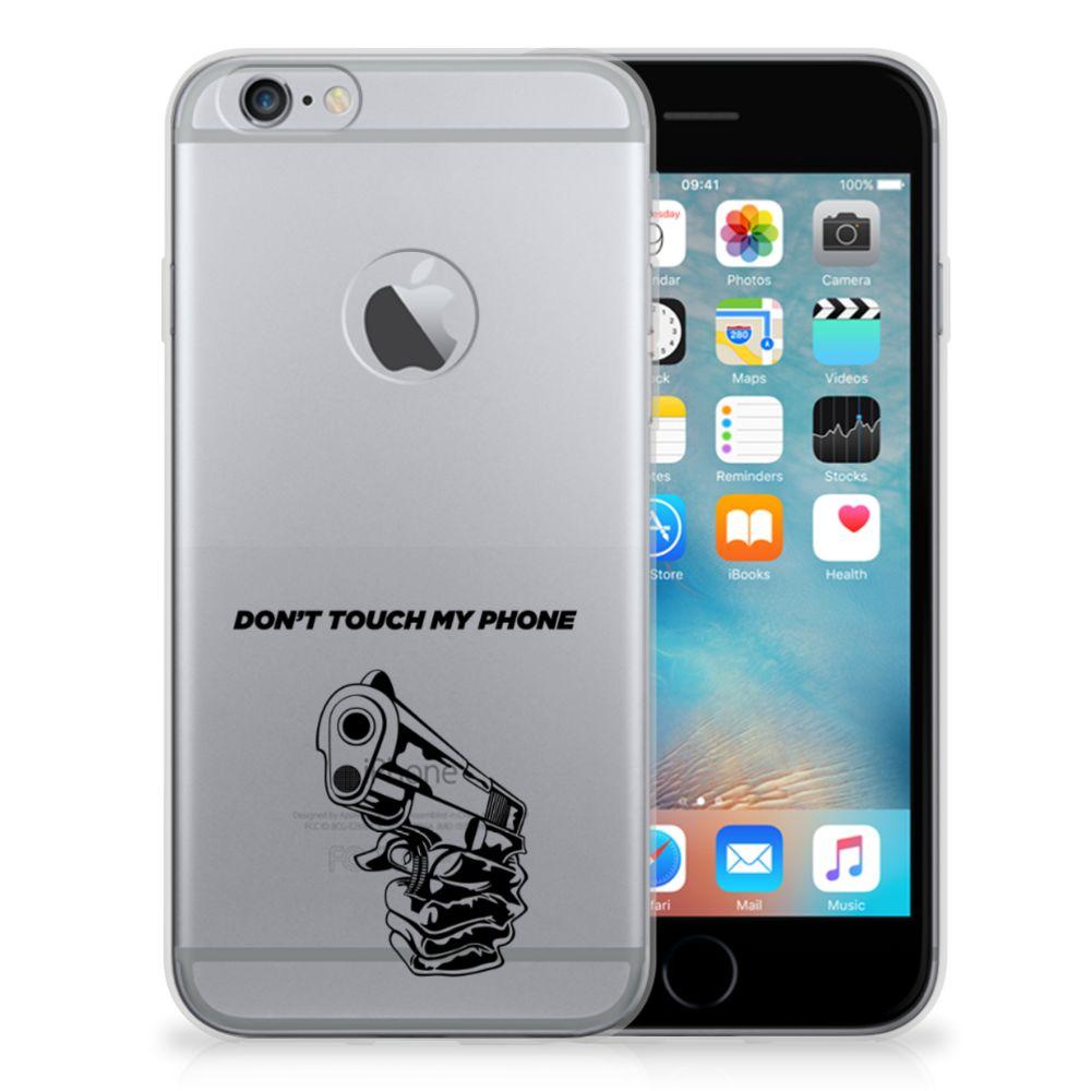 Apple iPhone 6 Plus | 6s Plus Silicone-hoesje Gun DTMP