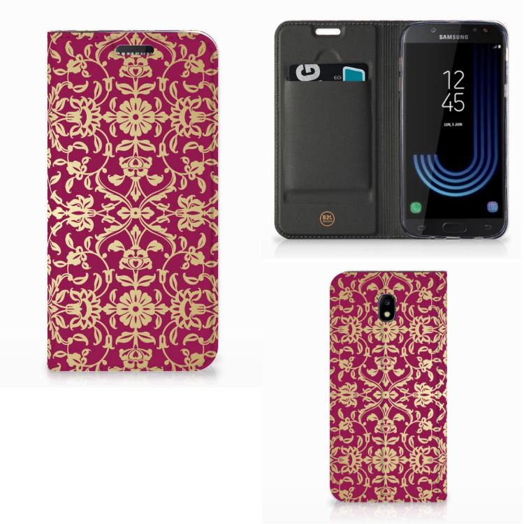 Telefoon Hoesje Samsung Galaxy J5 2017 Barok Pink