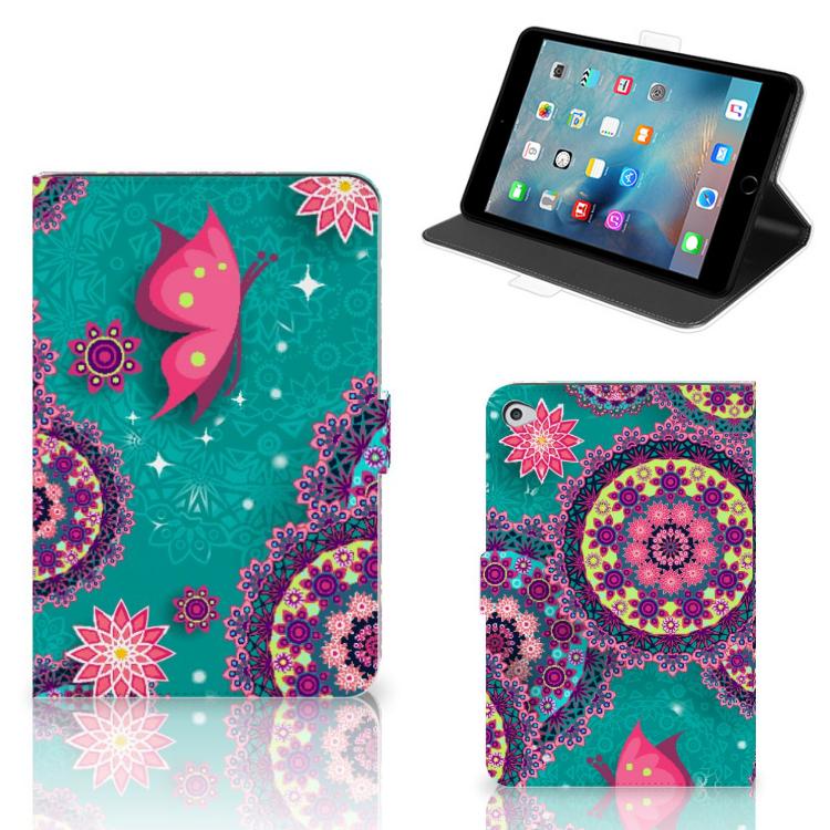 Apple iPad Mini 5 Hoes Cirkels en Vlinders