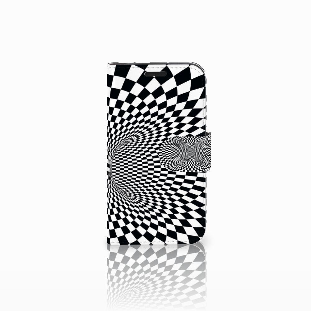 LG K4 Bookcase Illusie