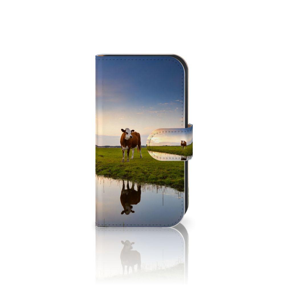 Samsung Galaxy Ace 4 4G (G357-FZ) Boekhoesje Design Koe
