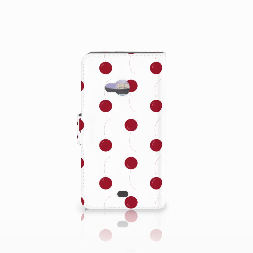 Microsoft Lumia 535 Book Cover Cherries