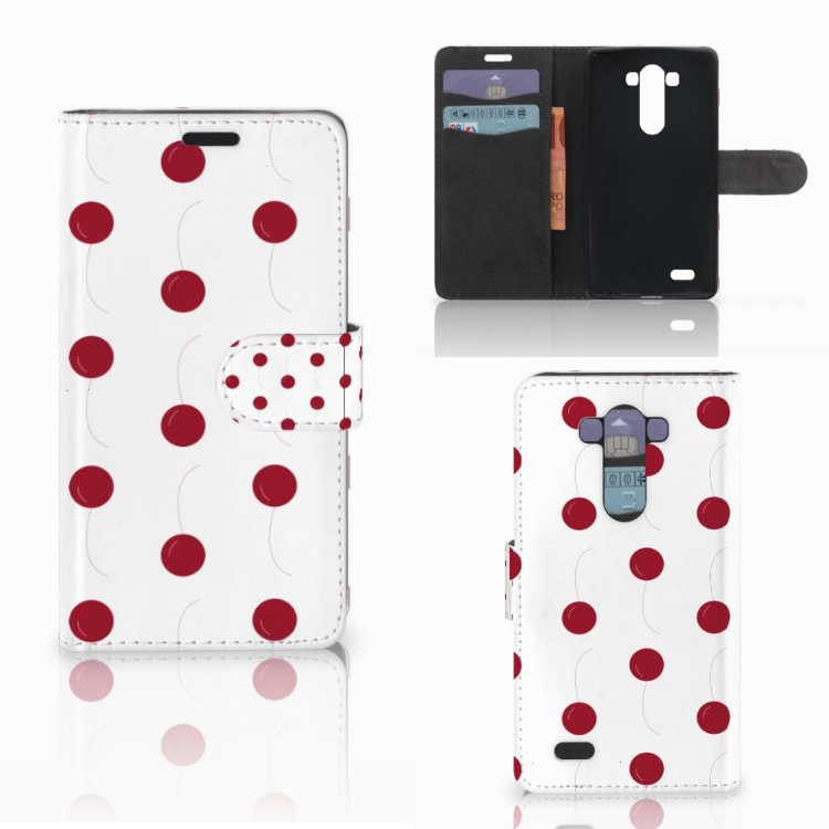LG G3 Book Cover Cherries