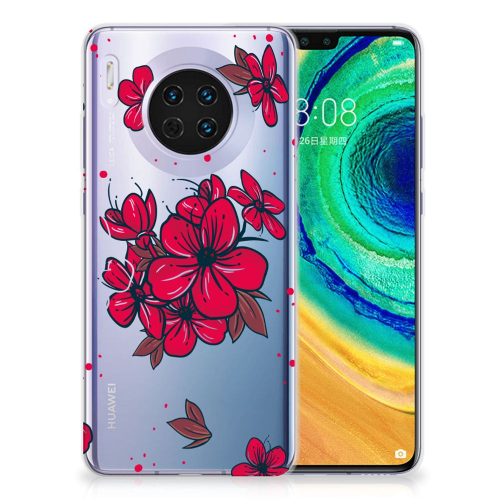 Huawei Mate 30 TPU Case Blossom Red