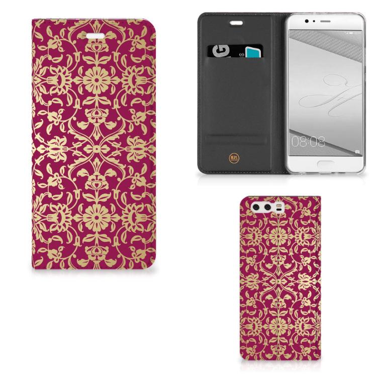 Telefoon Hoesje Huawei P10 Plus Barok Pink