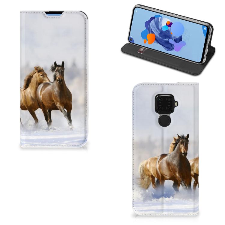 Huawei Mate 30 Lite Hoesje maken Paarden