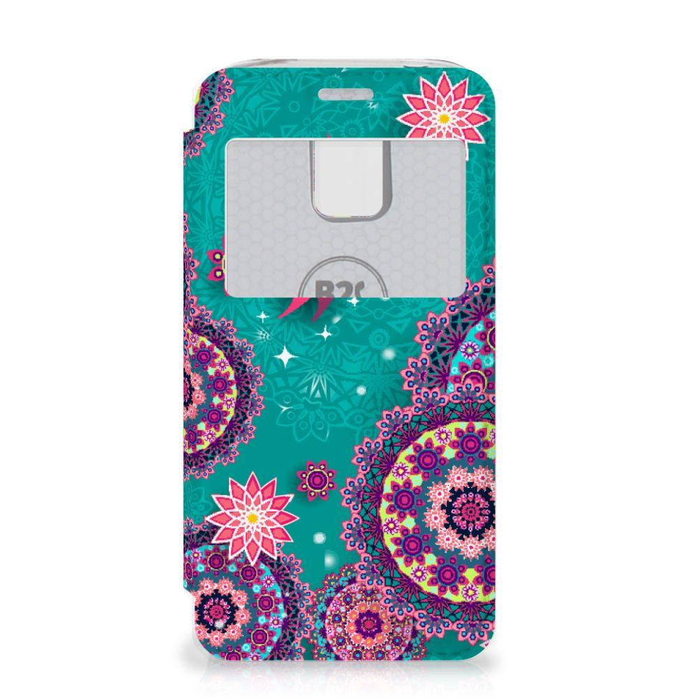 Samsung Galaxy S5 Mini Hoesje Cirkels en Vlinders